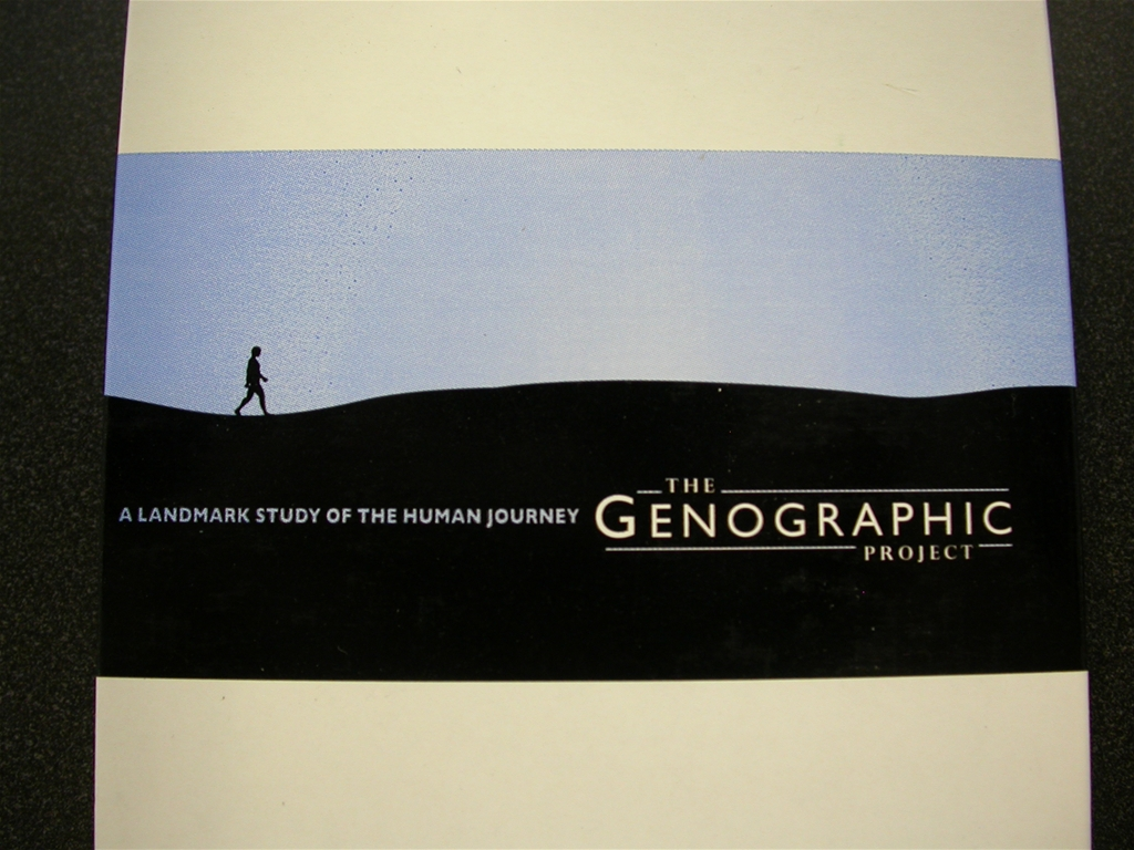 the genographic project The genographic project is a research project of the, which encompasses work carried out by national geographic™ society's scientific team to elucidate new patterns of human migration, as well as public testing through the participation kits.