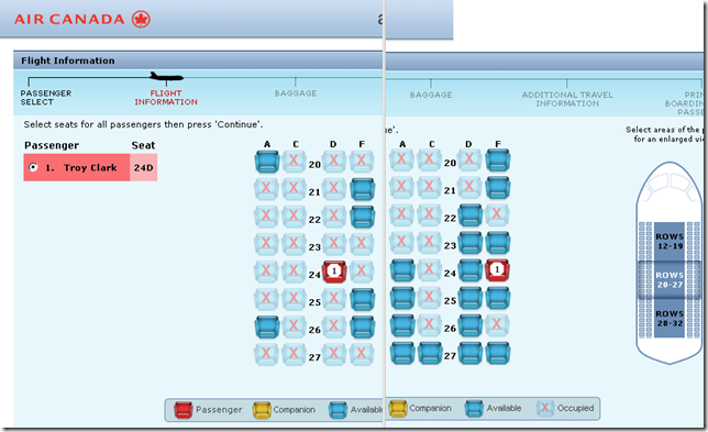 how to find available flight seats